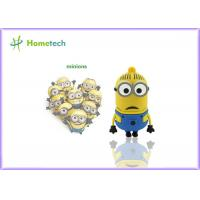 Buy cheap Minions Custom USB Memory Stick 64MB - 128GB Capacity Soft Plastic Material product