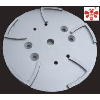 Buy cheap White Diamond Cutting Blade , 10 Inch Grinding Head  Diamond Cup Wheel  Floor Grinding Plate from wholesalers