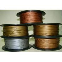 Buy cheap Aluminum Copper Bronze Red Copper Brass 3d Printer Filament 1.75mm Good Gloss from wholesalers