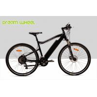 Buy cheap 25km / h 350 Watt Motorized Mountain Bike Electric Bicycles 700C MTB tire from wholesalers