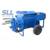 Buy cheap Professional Cement Render Pump , Electric Cement Grout Pump 50 L/Min Output from wholesalers