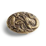 Buy cheap Float dragon logo men's alloy belt buckle, automatic lock 3D custom logo belt buckle from wholesalers