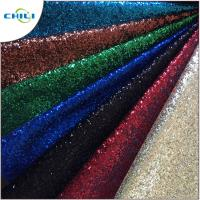 Buy cheap Garment Glitter Leather Fabric Customized Color Size Elegant For Handbags from wholesalers