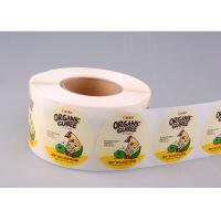 Print Vinyl Adhesive Product Stickers Labels Printing With Glassine Paper