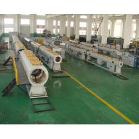 Buy cheap Water Supply PVC Pipe Production Line , 60-250KW PVC Pipe Extrusion Machine from wholesalers