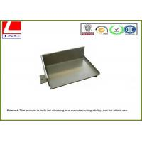 Buy cheap Sheet metal fabrication steel cover with grey powder coating from wholesalers