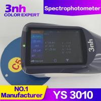 Buy cheap YS3010 Portable Color Spectrophotometer 3NH SCI SCE Liquid / Powder Color Difference Delta E from wholesalers
