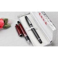 Buy cheap gift box packed advertising metal roller pen,gift box metal pen from wholesalers