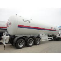 Buy cheap Factory direct sale CLW brand bulk lpg gas transported tank, China famous 56m3 propane gas tank semitrailer for sale from wholesalers