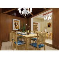 Buy cheap Dining Room Background WPC Wall Cladding Composite Integrated Wallboard Panel from wholesalers