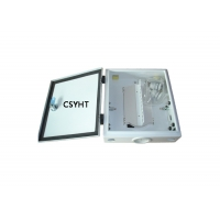 Buy cheap Wall Mounted FTTX SC CATV 12C Fiber Optic Terminal Box from wholesalers