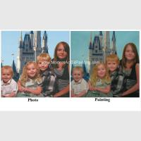 Buy cheap Handmade Custom Oil Painting Portraits Painting Children's Portraits In Oil from wholesalers