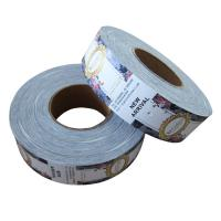 Buy cheap Swing Roll Custom Garment Tags , Clothing Brand Labels Removal Ink Non Fade from wholesalers