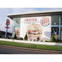 Buy cheap PVC Large Custom Vinyl Banners , Outdoor Vinyl Banners With Grommets from wholesalers