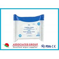 Buy cheap Personalized Adult Wet Wipes Facial Cleansing Cloths PH Balanced from wholesalers