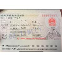 Buy cheap One year Business and Tourist  Visa Services for Foreigners from wholesalers
