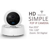 Buy cheap IR Audio Wireless Indoor IP Camera PTZ , Wifi Security Cameras For Home from wholesalers