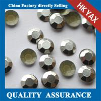 Buy cheap China Hotfix Rhinestuds,Wholesale 2mm Rhinestuds Hotifx,Shiny Silver Rhinestuds Octagon from wholesalers