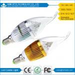 Buy cheap E14, E27, E12 4W 2800K - 6500K Dimmable Led Candle Light Bulbs AC220V from wholesalers