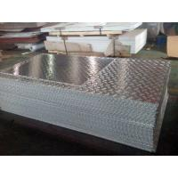 Buy cheap Leaf Pattern Aluminium Checker Plate Fire Resistance For Solar Reflective Film product