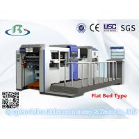 Buy cheap High Speed Fully Automatic Flat Bed Die Cutting Machine(With Creasing Part) from wholesalers