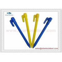 Buy cheap High quality PP or ABS plastic tent peg for outdoor camping  6 in. from wholesalers