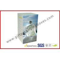 Buy cheap Coated Paper 200gsm Rigid Gift Boxes , Custom Printed France Wine Packaging Boxes For Gift product