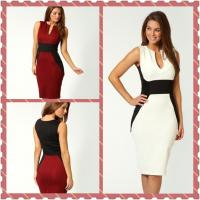 Top quality Formal Sleeveless Casual Womens Dresses Eco-Friendly , Yarn Dyed for sale