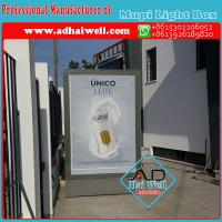 Buy cheap High Quality Mupi Scroller LED Light Box Advertising Display Made in China from wholesalers