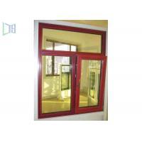 Sizes Customized Aluminium Tilt And Turn Windows With Insulation System