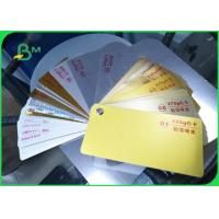 China Recycled Pulp Type Ivory Board Paper Metallized Film Surface Material on sale