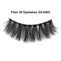 Buy cheap Fiber Fake 3D Mink Eyelashes Stage Makeup Natural Beauty Tool Handmade from wholesalers