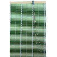 Buy cheap Green Bamboo  Window Blinds Woven Wood Blinds Curtains / Roll Up Window Shades from wholesalers