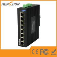 8 Port Auto Adaptive Unmanaged Full Gigabit Switch , Industrial Ethernet Switch