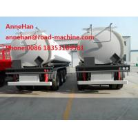 Buy cheap 45 M3 Three FUWA Axles Oil Tank Small Semi Trailer Truck option colour with 12.00R22.5model tire from wholesalers