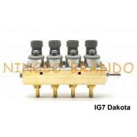 Buy cheap RAIL Type IG7 Dakota Navajo Injector Rail 2 Ohm 4 Cylinder Aluminum Body For LPG CNG from wholesalers