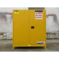Buy cheap Double Layer Flammable Drum Storage Cabinet Premium Cold Rolled Sheet Steel product