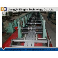 Buy cheap Automatic Cutting Punching Shelf Rack Roll Forming Machine With Cr 12 Quenched Cutter from wholesalers