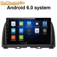 Buy cheap Ouchuangbo car radio stereo navigation android 6.0 for Mazda Atenza 2014 with 1RAM music bluetooth wifi usb aux from wholesalers
