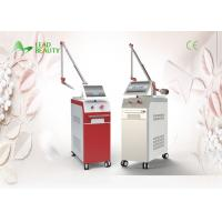 Buy cheap 532nm Q Switch Laser Tattoo Removal Machine , nd yag laser hair removal settings from wholesalers