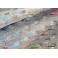 Buy cheap Knitted Minky Bubble Dot Fabric , Micro Mink Fabric For Baby Blankets 60 Inch Width from wholesalers