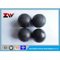 Buy cheap Industrial cast grinding media balls , High Strength forged grinding steel ball from wholesalers