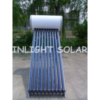 Buy cheap High Pressure Solar Electric Water Heater 100L With 1.6mm Glass Tube Thickness from wholesalers