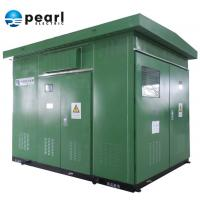 Buy cheap Dual Voltage Prefabricated Substations 20 - 10 KV Europe Type Artistic Appearance from wholesalers