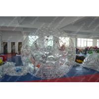 Buy cheap Waterproof 0.8mm PVC Inflatable Zorb Ball , Human Hamster Ball Rental from wholesalers