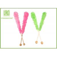 Craft Ideas Decorative Popsicle Sticks , Natural Wood Color Candy Floss Sticks Sterile