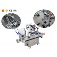 Buy cheap High Accuracy Egg Tray Vial Labeling Machine 220V With PLC Control System from wholesalers