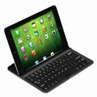 Buy cheap Wholesale Aluminum Case wireless bluetooth keyboard for iPad MINI from wholesalers