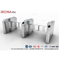 Buy cheap Fingerprint Entrance Swing Barrier Gate Stainless Steel For Handicap Channel product