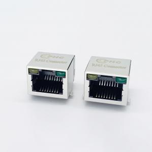 Buy cheap Phosphor Bronze Contact RJ45 PCB Mount Jack 1060-208046 product